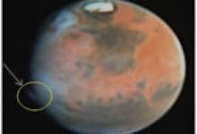 La planète Mars et ses mystères