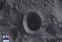 Le 11 septembre un astéroïde de 400 kg s'écrase sur la lune.